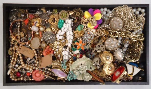Lg. Lot Vtg. Costume Jewelry