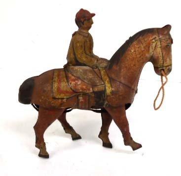 Keywind Tin Horse & Jockey