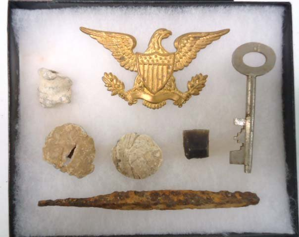 Lot Civil War Relics
