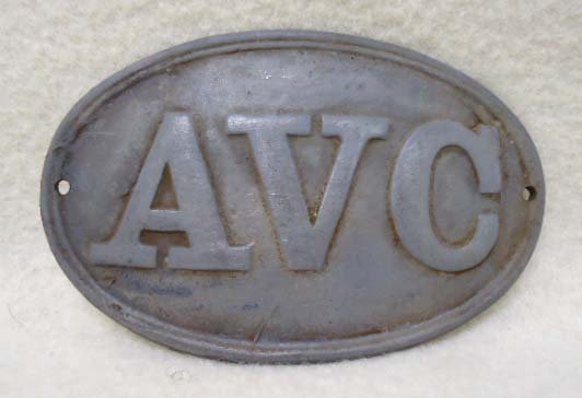 Civil War A.V.C. Breast Plate