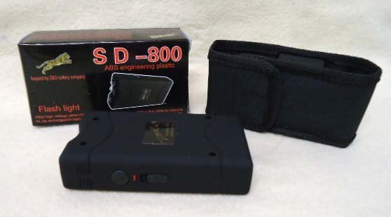 SD-800 Flashlight Stungun