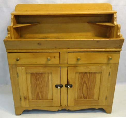 Early Pine Dry Sink