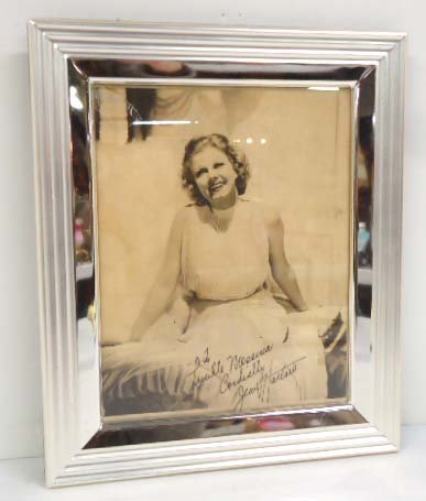 Autographed Photo Jean Harlow