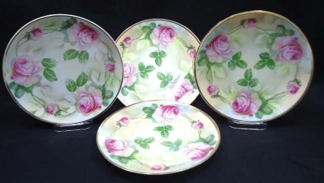 4 H.P. Prussia Plates