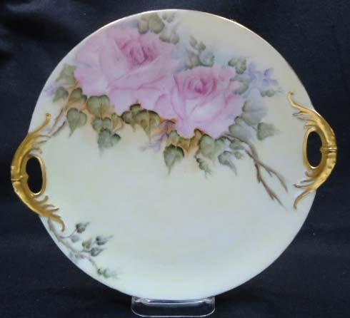 H.P. Cake Plate