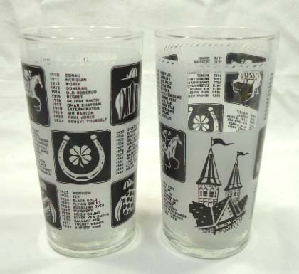 (2) 1967 KY Derby Glasses