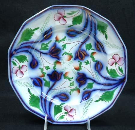 Polychrome Flow Blue Plate