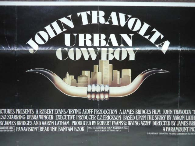Urban Cowboy Movie Poster - 2