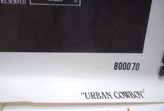 Urban Cowboy Movie Poster - 3