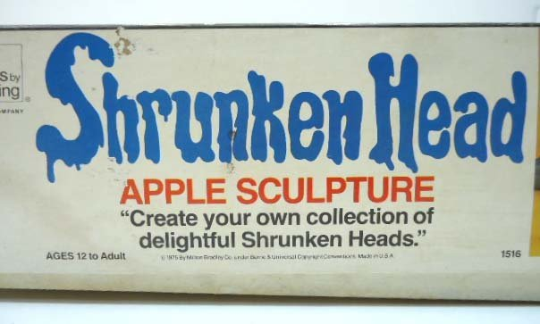 Shrunken Head Apple Sculpture Game - 3