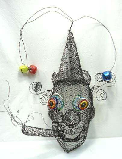 Mesh Clown Mask