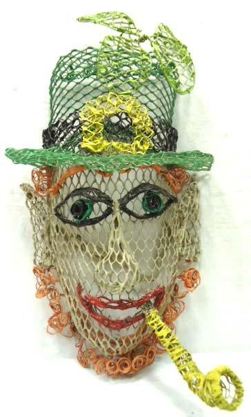 Mesh Leprechaun Mask