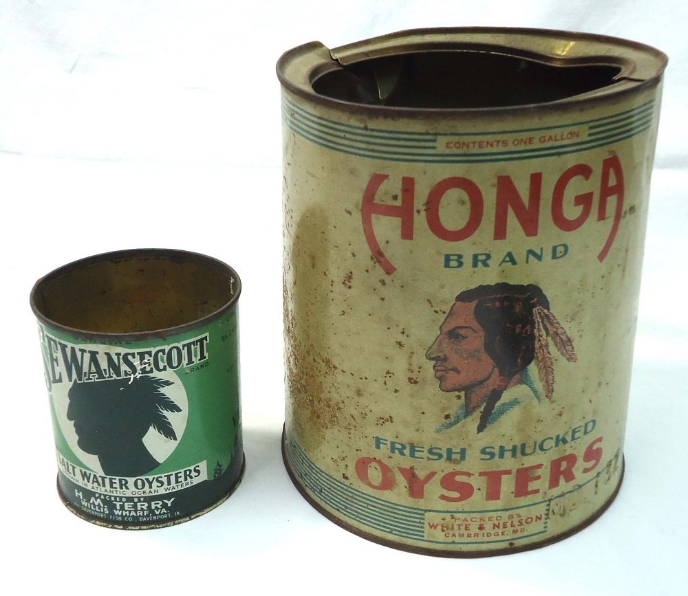 2 Oyster Tins