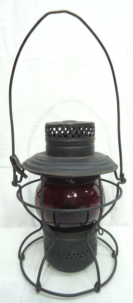 Handlan Red Globe R.R. Lantern