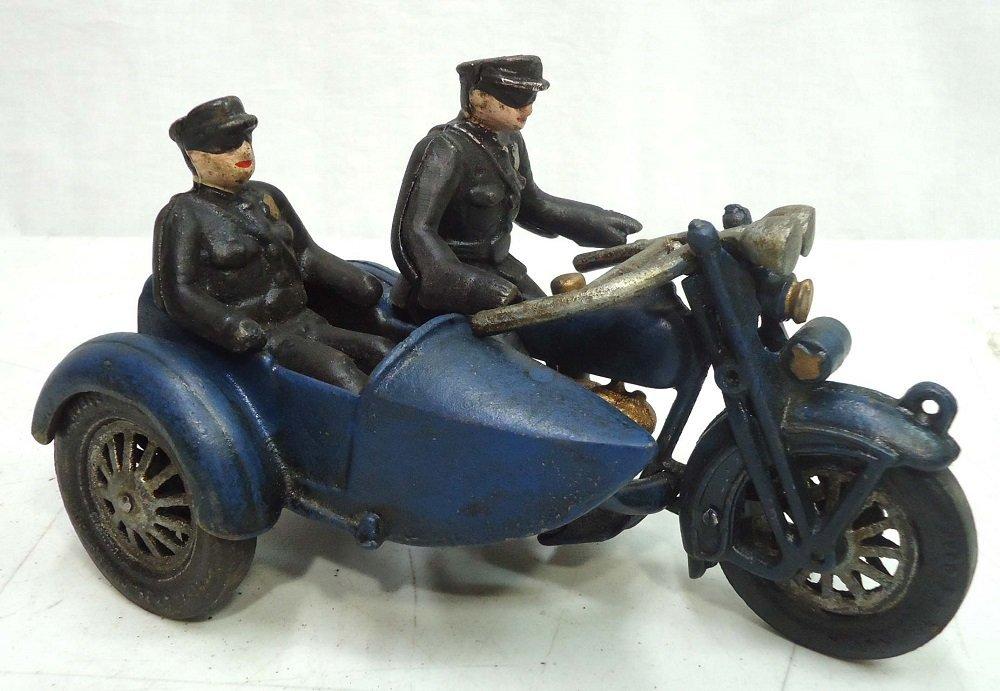 Modern C.I. Motorcycle & Sidecar