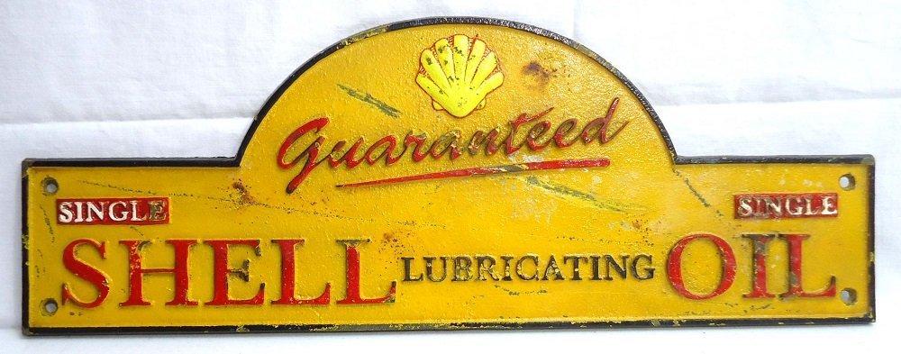 Modern C.I. Shell Oil Sign