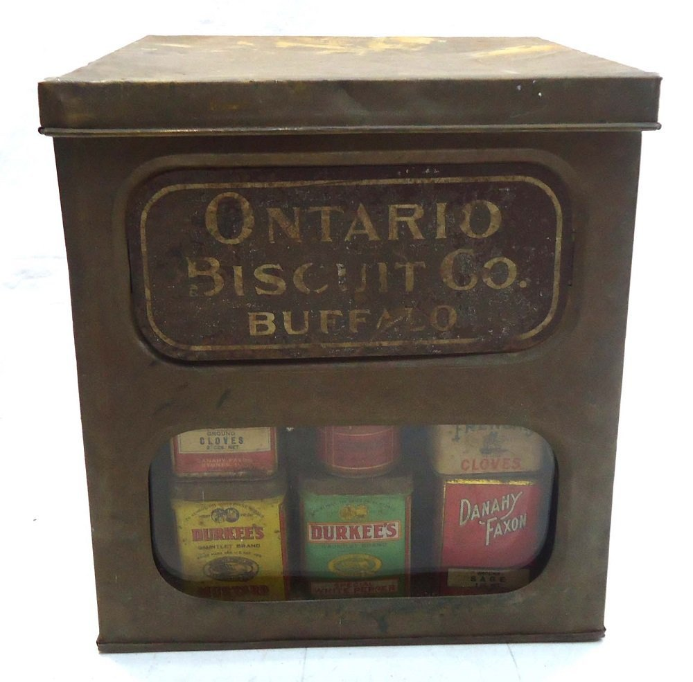 Ontario Biscuit Store Tin