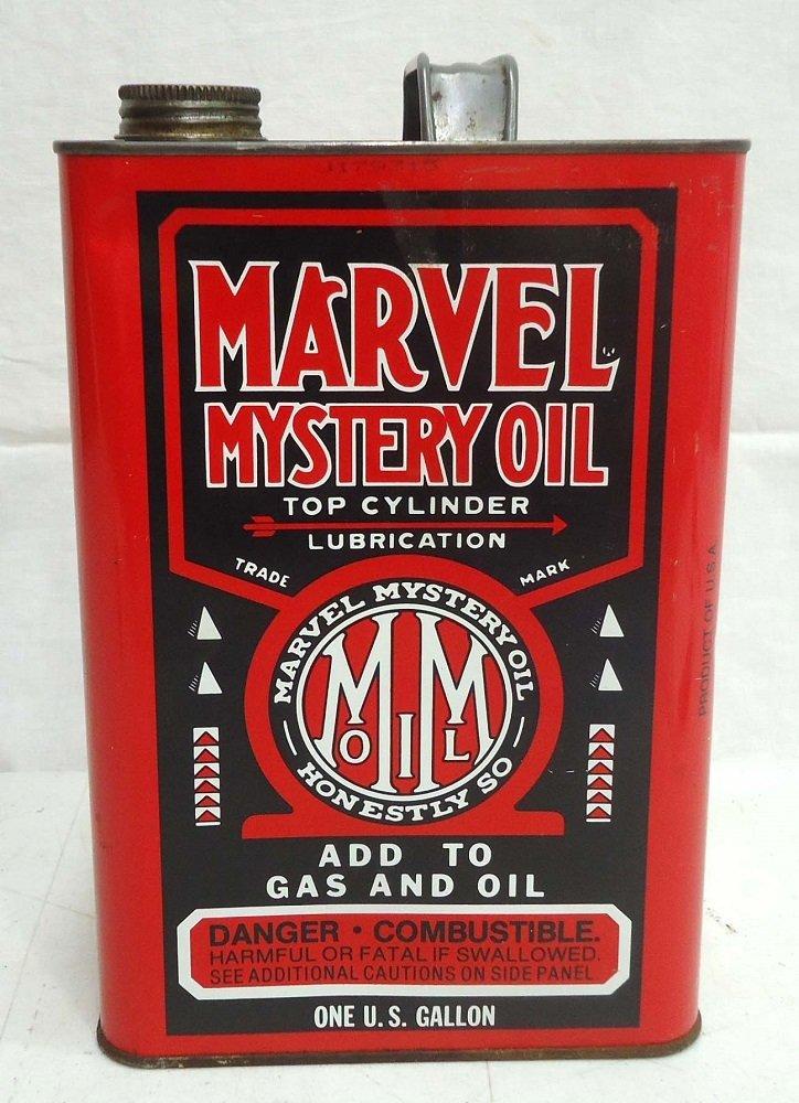 Marvel Oil Gallon Can