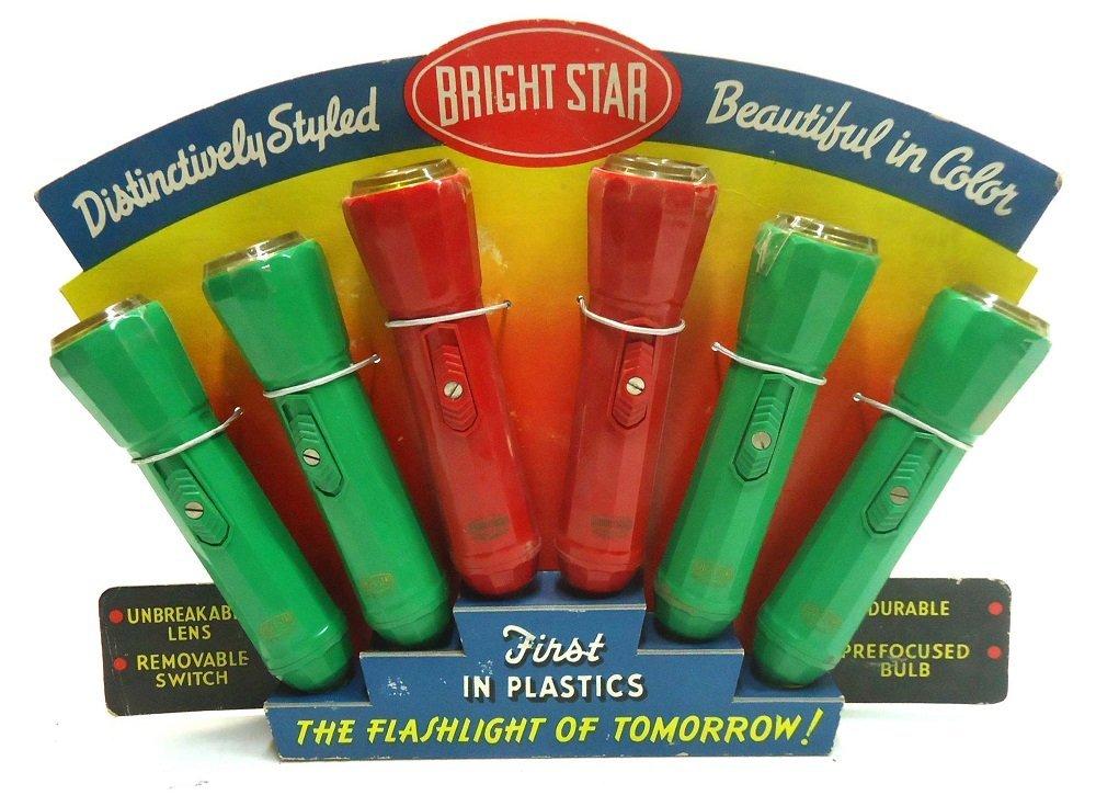 Bright Star Flashlight Display