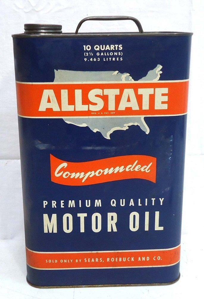 Allstate 10 Qt. Oil Can