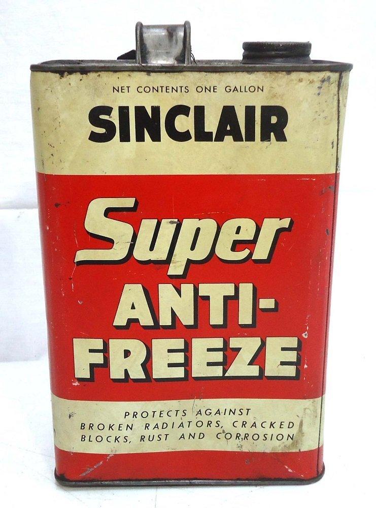 Sinclair Gal. Antifreeze Can