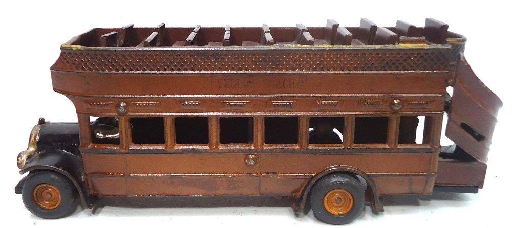 RARE Arcade C.I. Yellow Coach Bus
