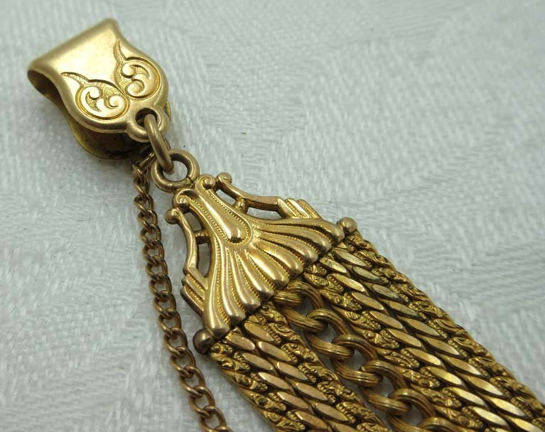 1903 Simmons Watch FOB & Chain - 2