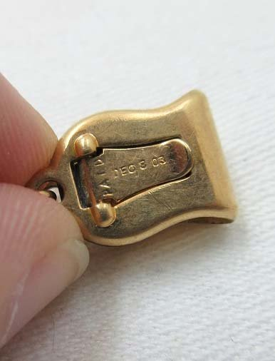 1903 Simmons Watch FOB & Chain - 5