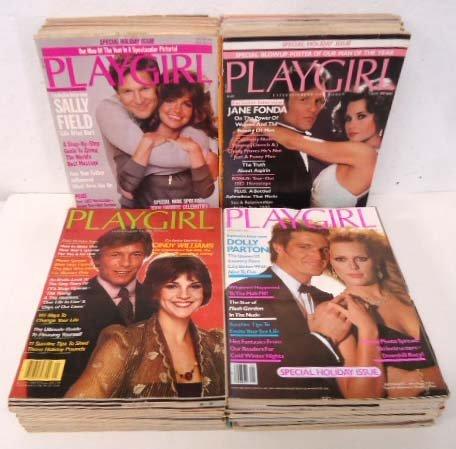 48 Playgirl Magazines 1980-83