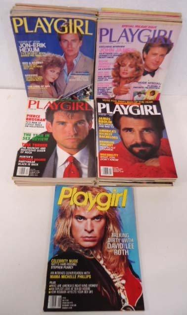 47 Playgirl Magazines 1984-87