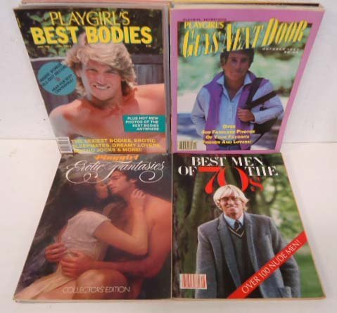 16 Playgirl Magazines 1980-84 Special Editions