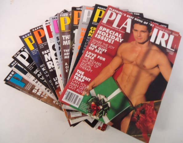 83 Playgirl Magazines 1990's - 3