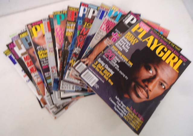 83 Playgirl Magazines 1990's - 4