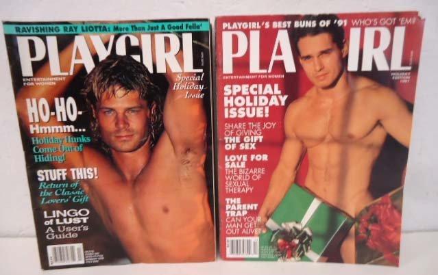 83 Playgirl Magazines 1990's - 7