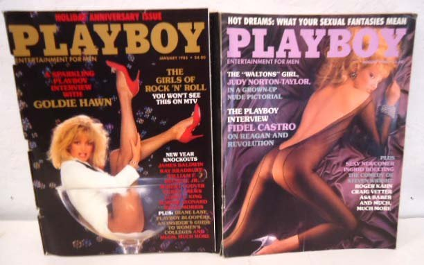 1985 Playboy complete, 12 issues