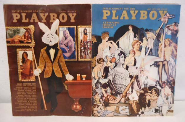 1972 Playboy complete 12 issues