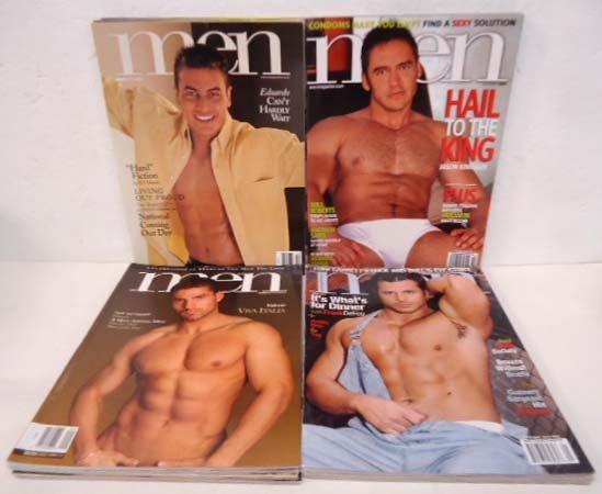 "18 Gay Interest ""Men"" Magazines 1997-2007"