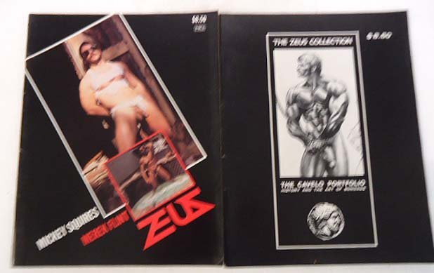 "7 Gay Interest ""Zeus"" Magazines - 2"