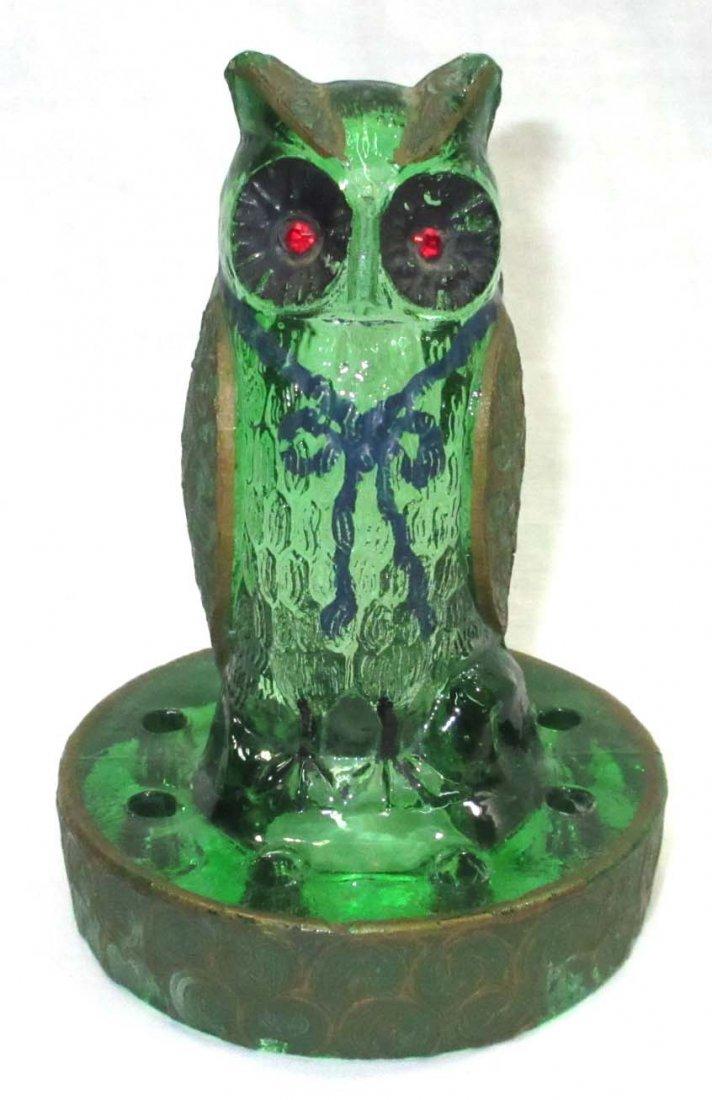 Green Glass Owl Frog