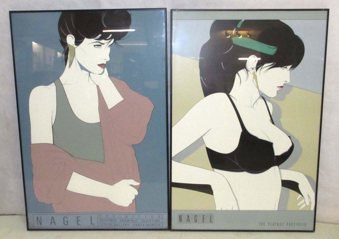 2 Patrick Nagel Prints