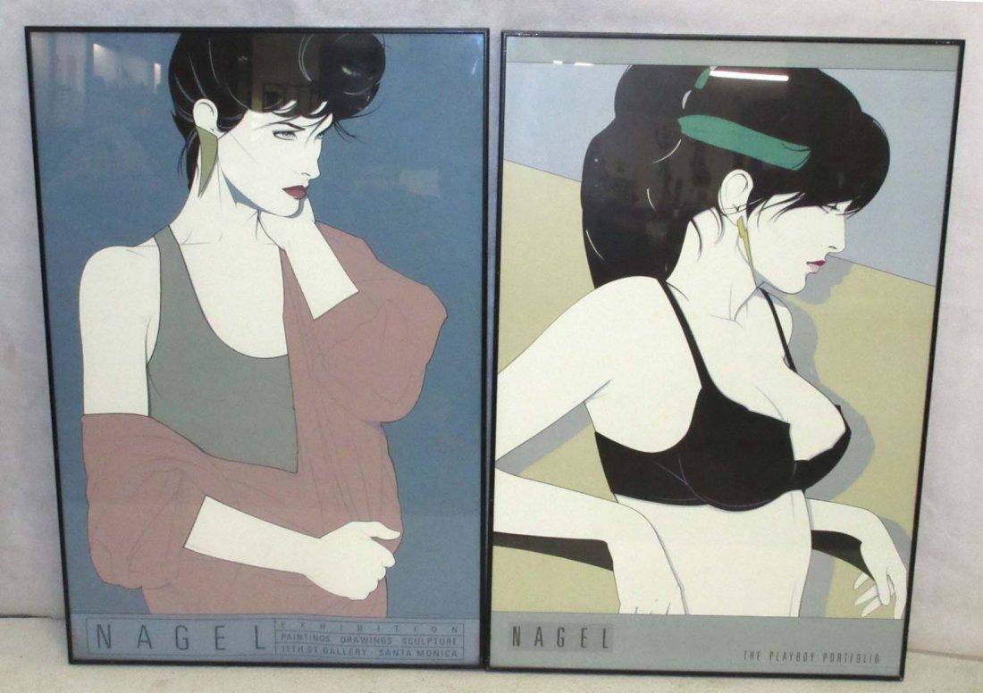 2 Patrick Nagel Prints - 2