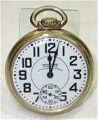 Waltham Premier Vanguard 23J Pocket Watch
