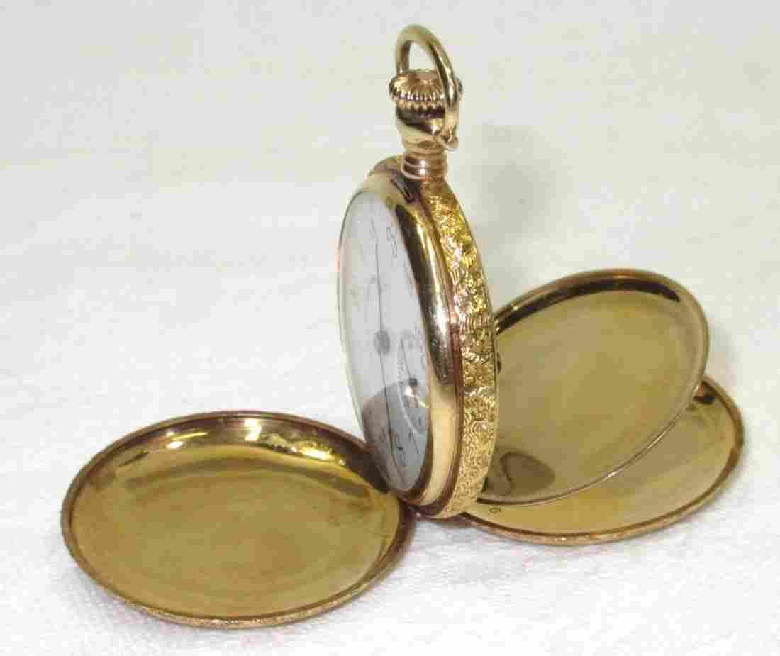 Illinois 17J H.C. 14K Ladies Pocket Watch