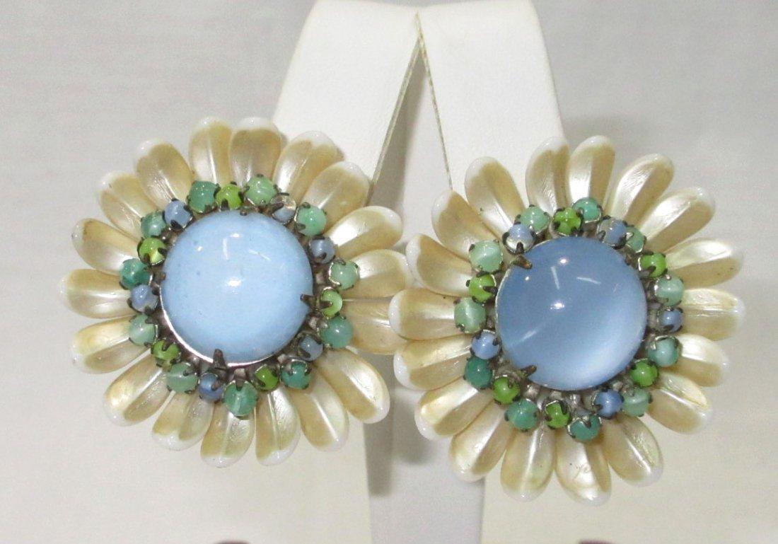 Fabulous Vintage Miriam Haskell Earrings