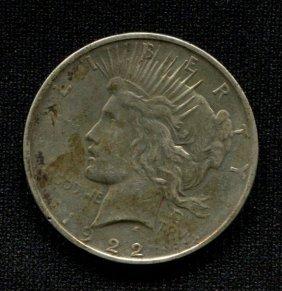 1922-d Silver Dollar
