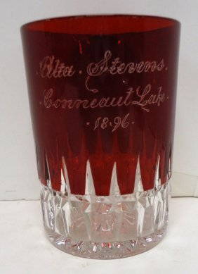 Souvenir Glass Tumbler