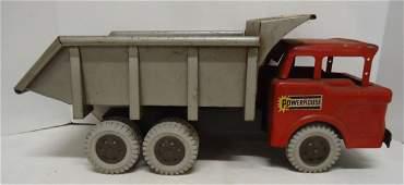"""Marx """" Powerhouse Toy Dump Truck"""