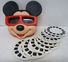 Mickey Mouse Stereo Viewer & Cards