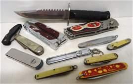12 Misc Pocket Knives
