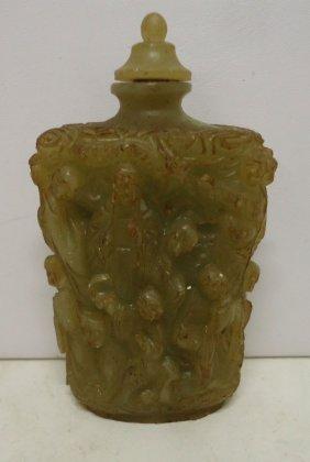 Carved Opium Bottle